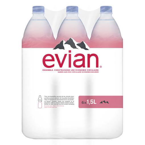 Afbeeldingen van EVIAN 6X1,5L PET